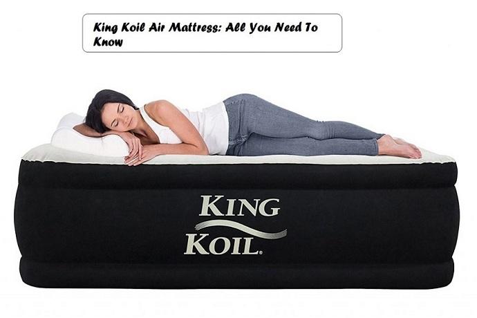 King Koil air mattress