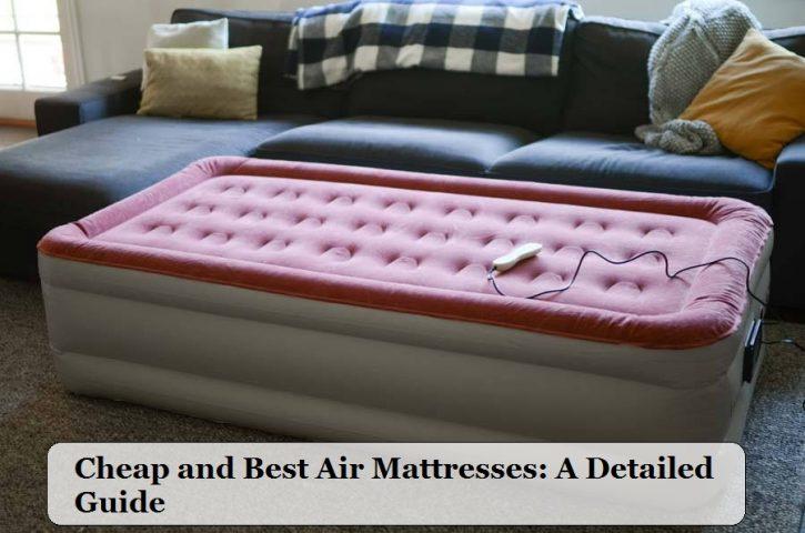 Review Of Different Type Of Air Mattress Repair Kit