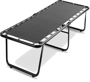 Camabeds Magad Foldable Truckle Metal Single Bed